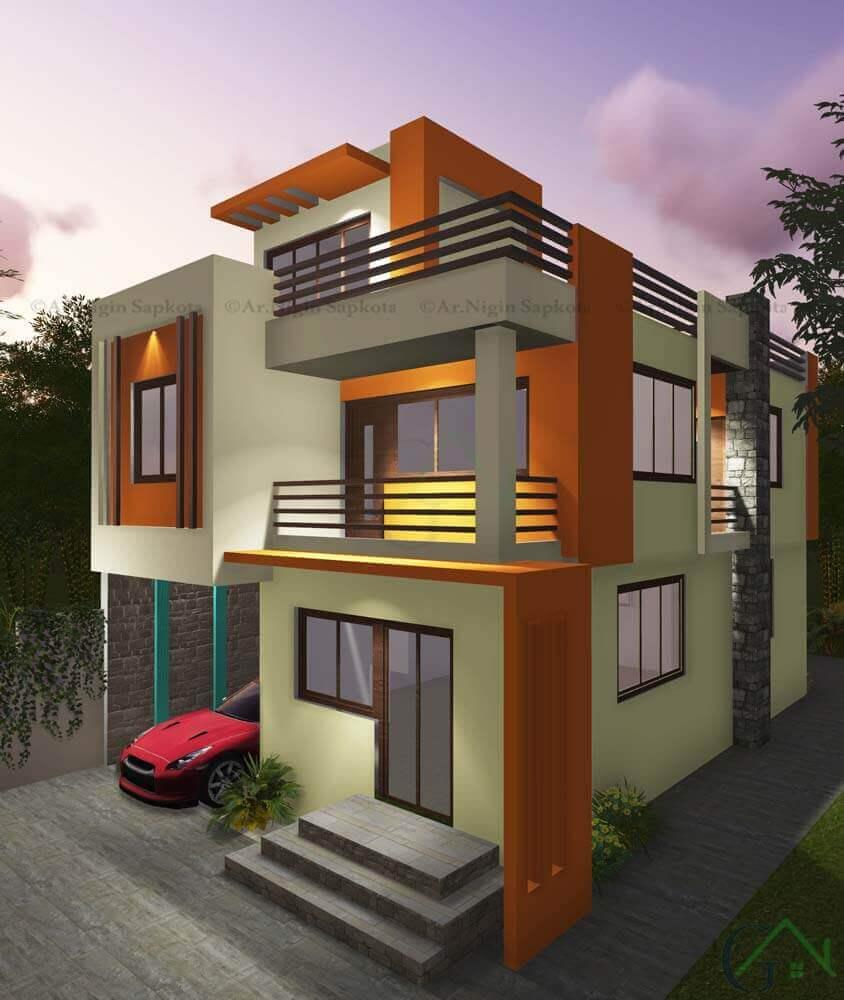 Mr Gautam 3d Pokhara Ga Builders Kathmandu Nepal